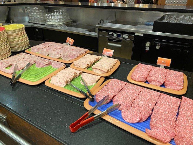 image - cars hotel disneyland paris salami platters