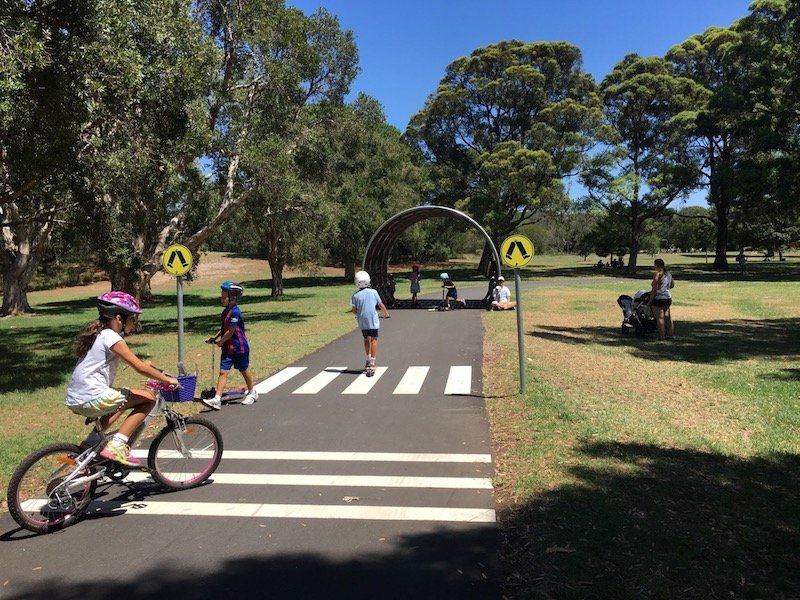 image - centennial park playground bike track