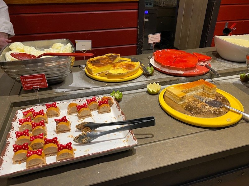 image - chuck wagon cafe disneyland paris dessert 1