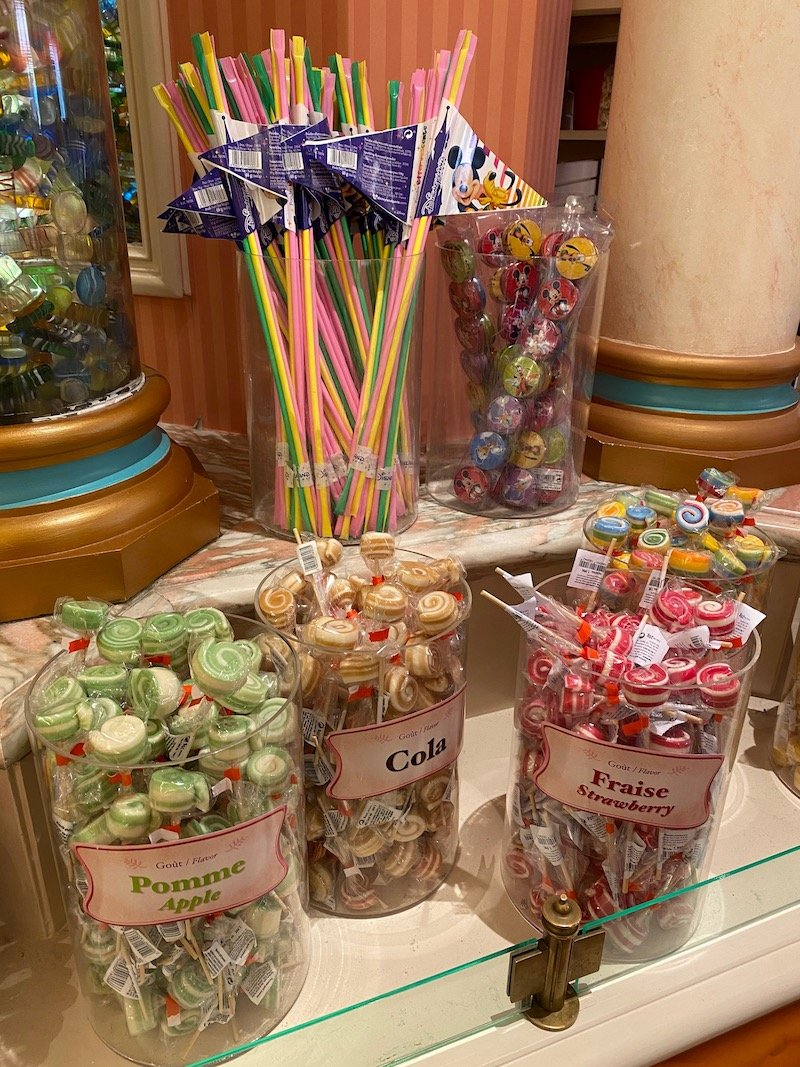 image - disneyland paris candy selections