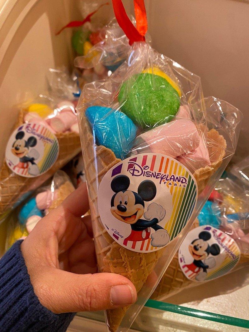 image - disneyland paris marshmallow cones