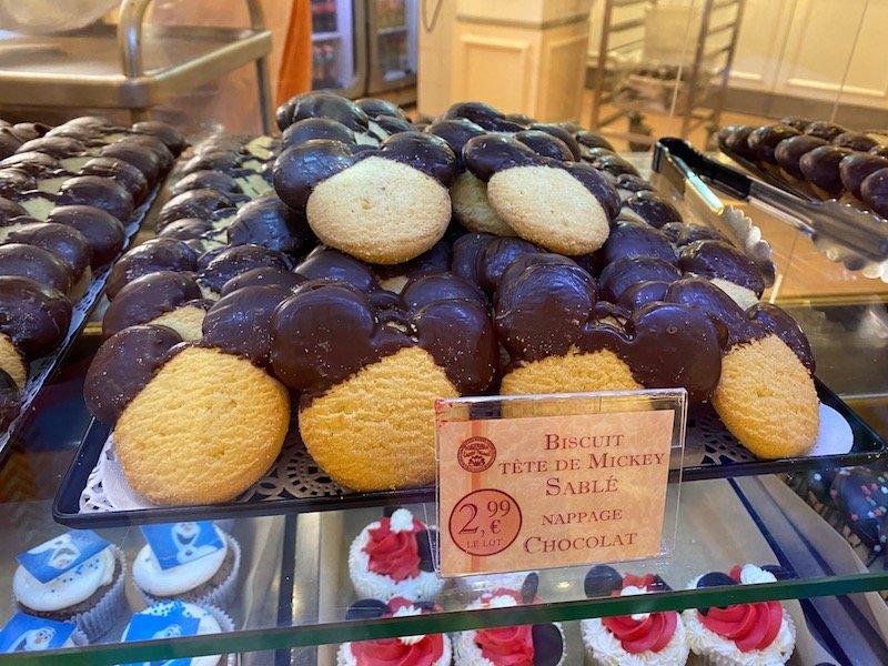 image - disneyland paris mickey biscuit