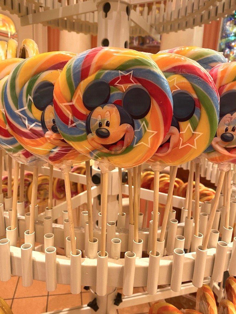 image - disneyland paris mickey lollipop