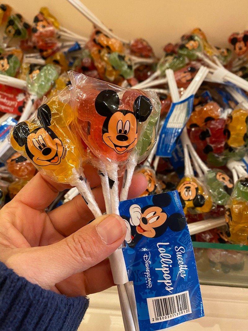 image - disneyland paris mickey lollipops pack