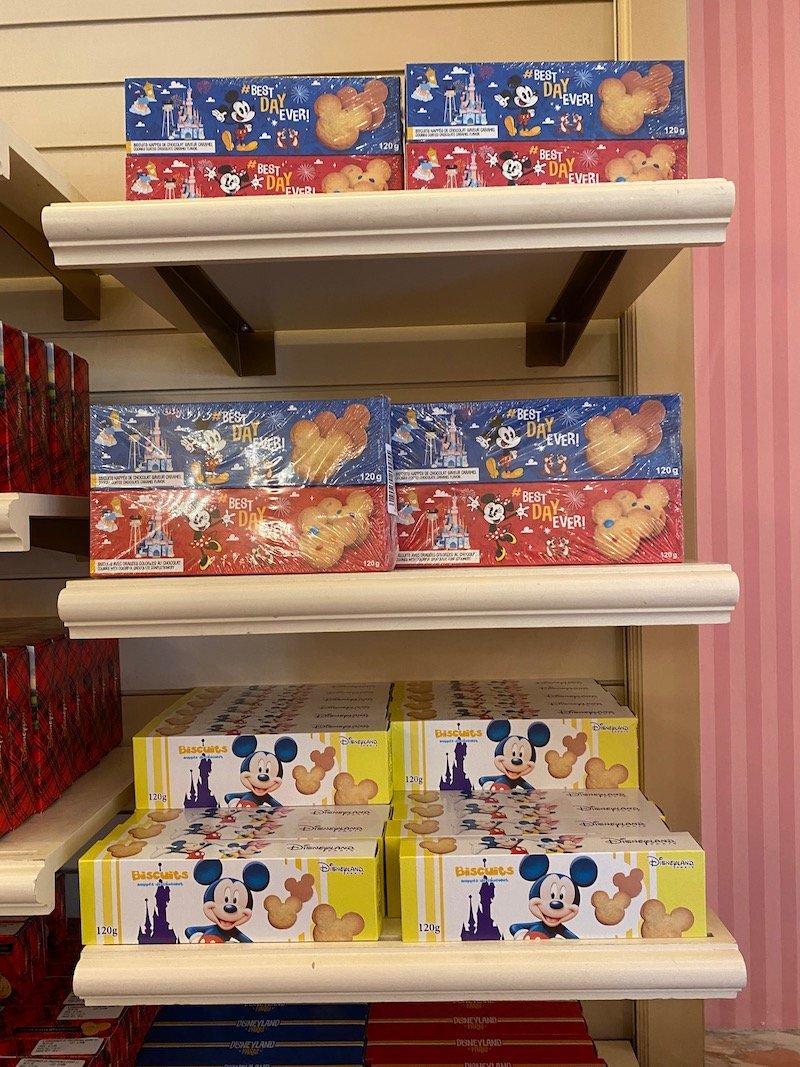 image - disneyland paris mickey mouse biscuits