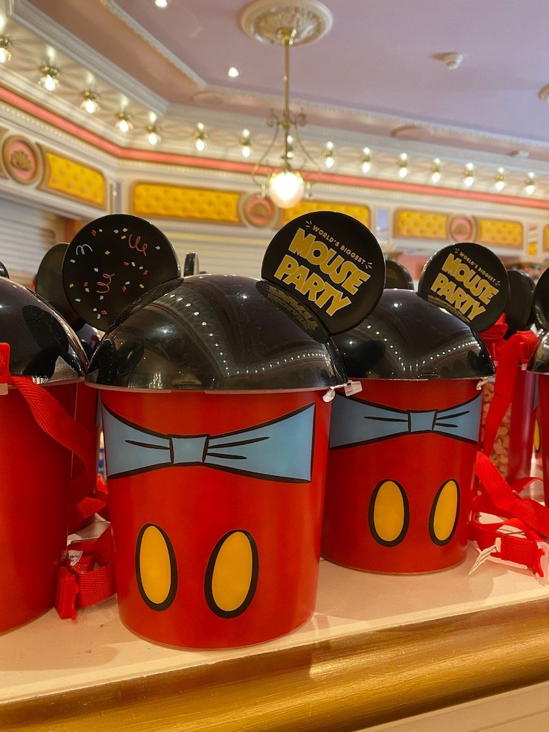 image - cookie time disneyland paris mickey mouse popcorn bucket