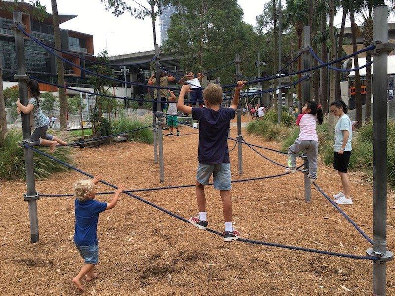 image - darling harbour playground sydney