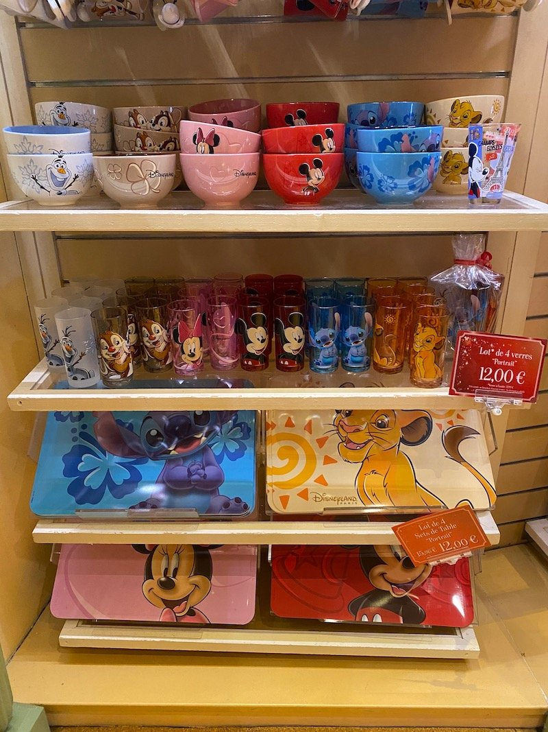 image - disney bowls and trays