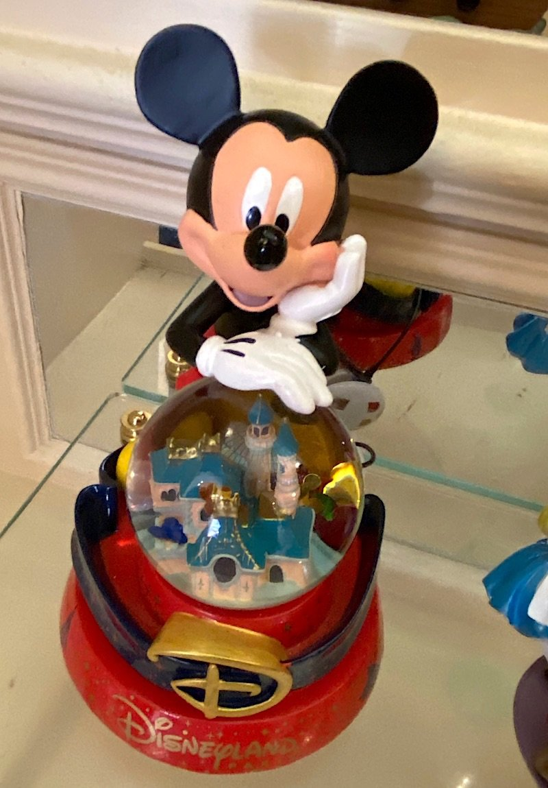 image - disney mickey mouse snowglobes