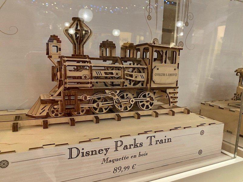image - disney parks train