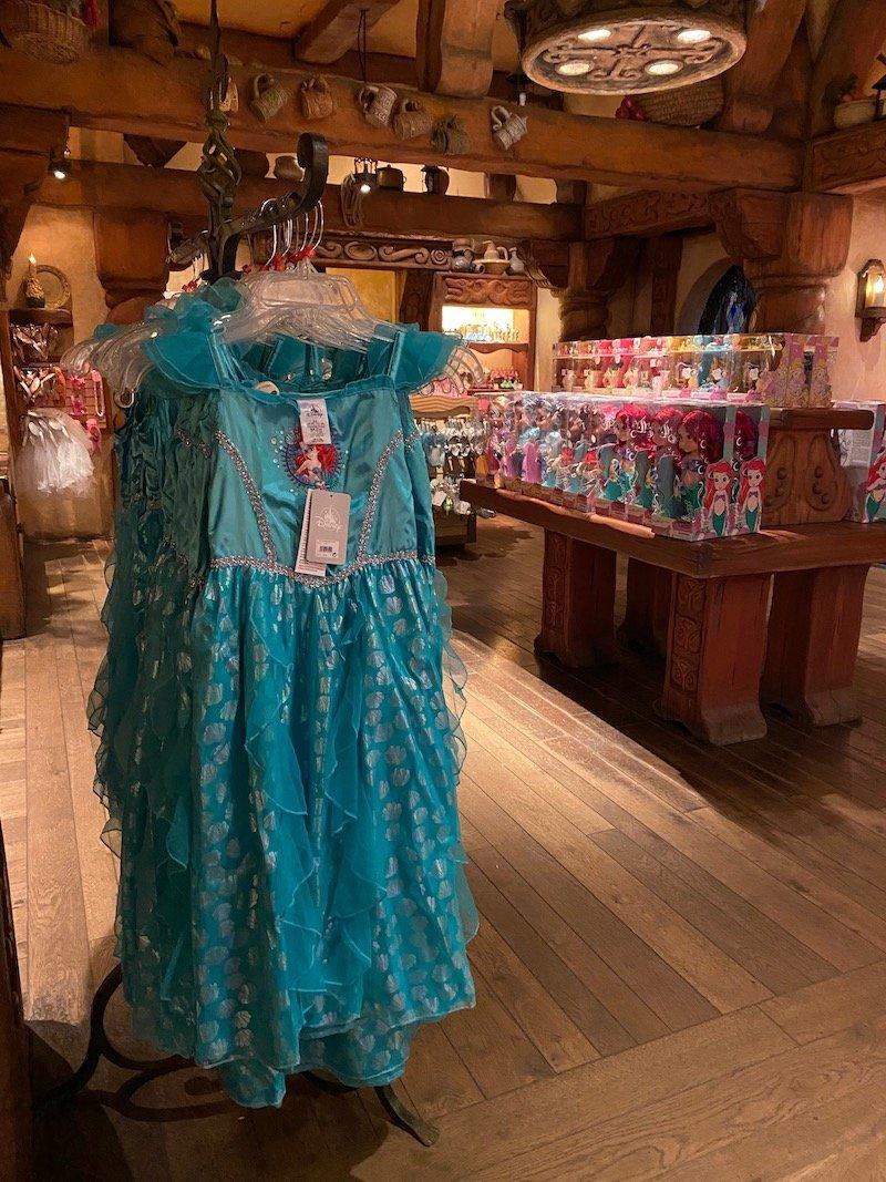 image - disney princess ariel dress up costume