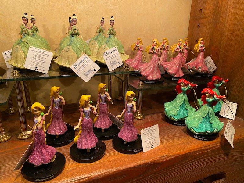image - disney princess statues