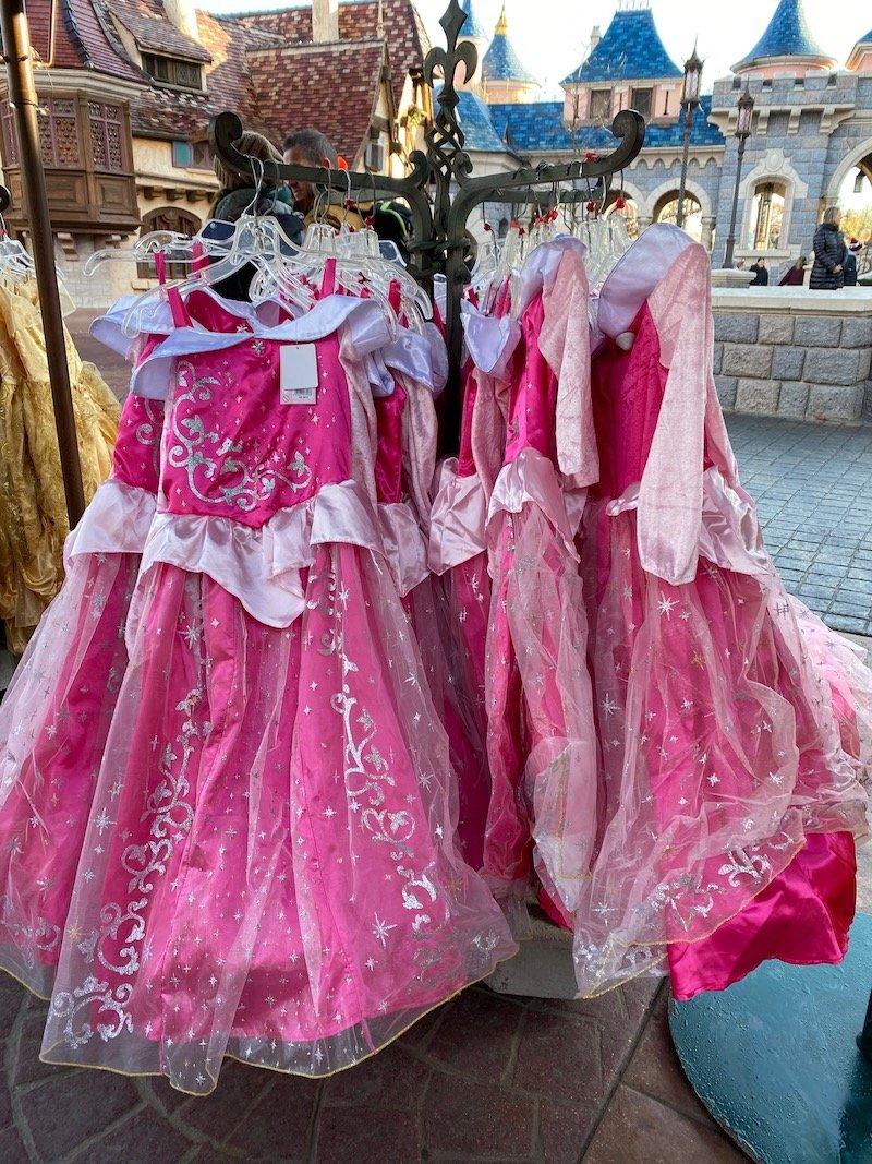 image - disneyland paris aurora dress up costume