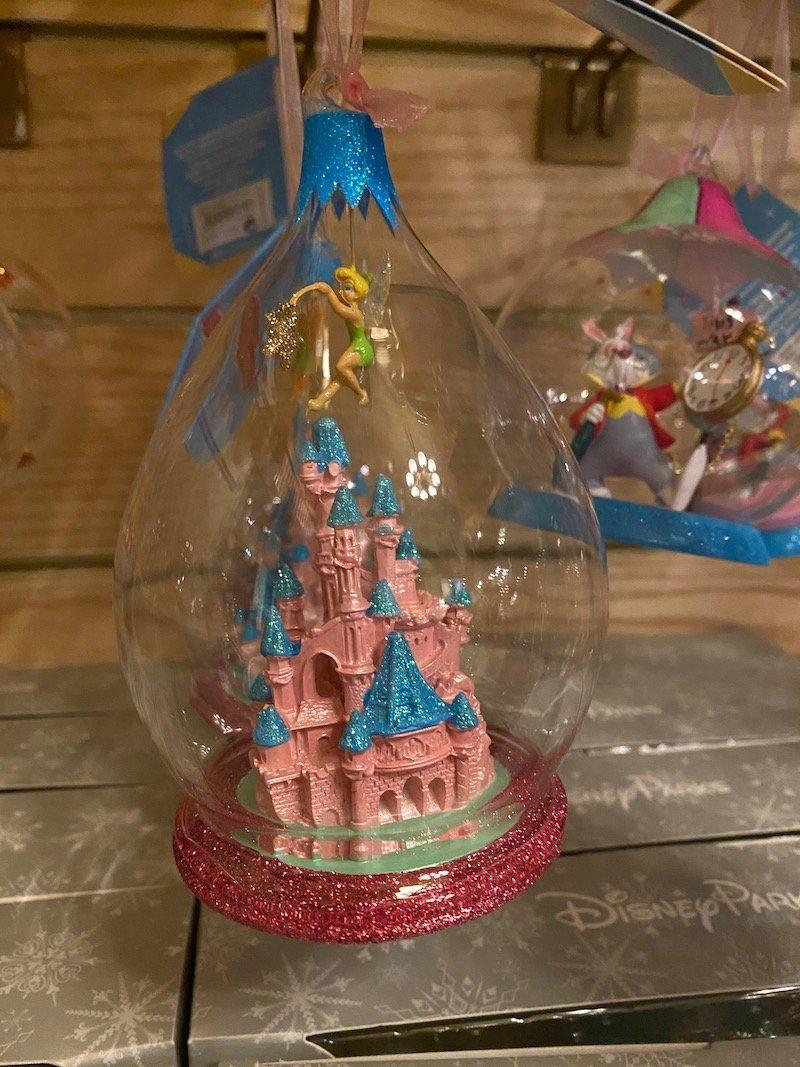 image - disneyland paris castle ornament