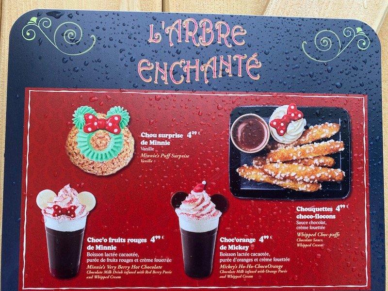 image - disneyland paris christmas food treats