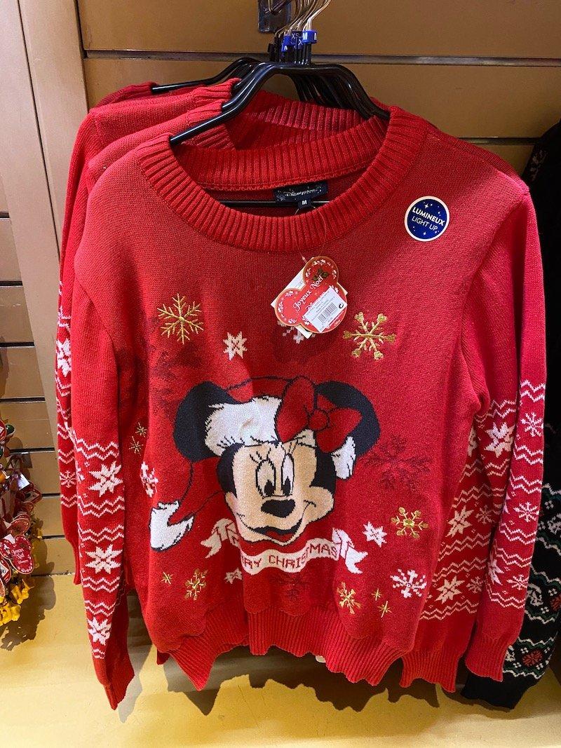 image - disneyland paris christmas jumpers