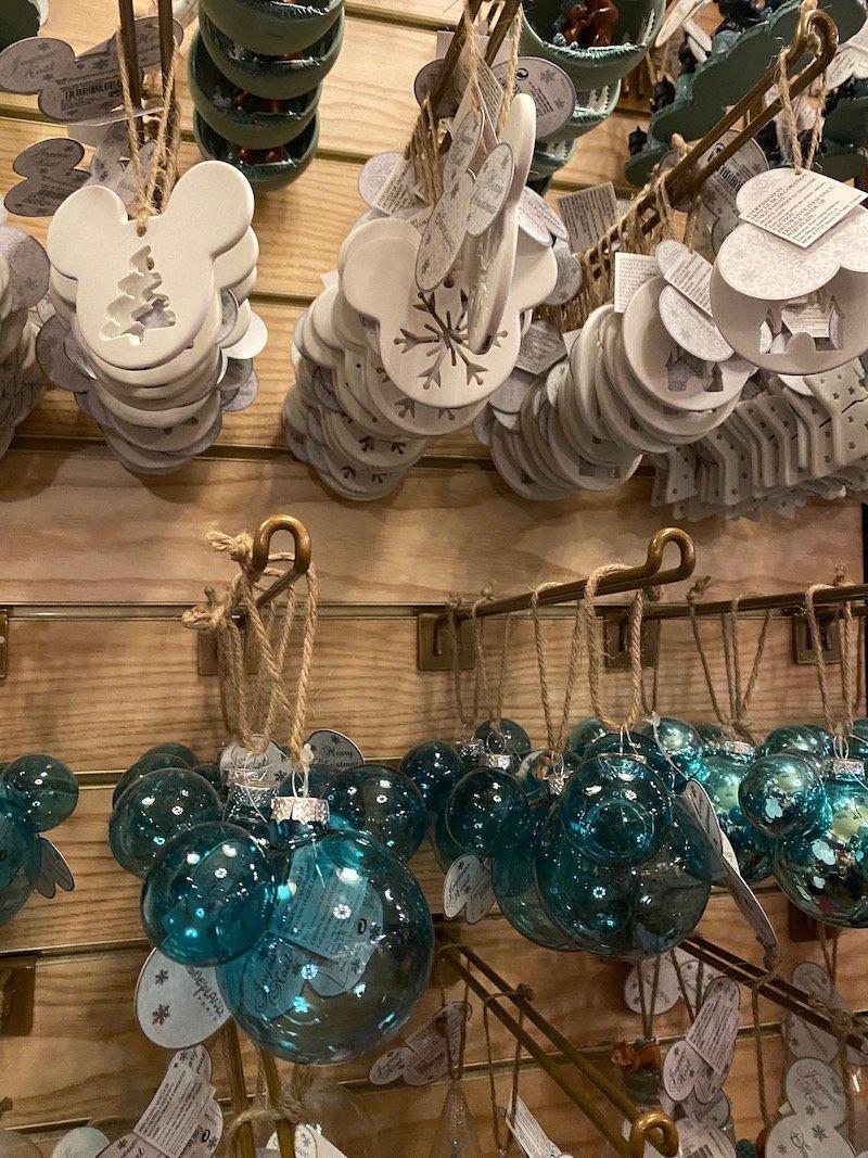 image - disneyland paris christmas mickey ears ornaments