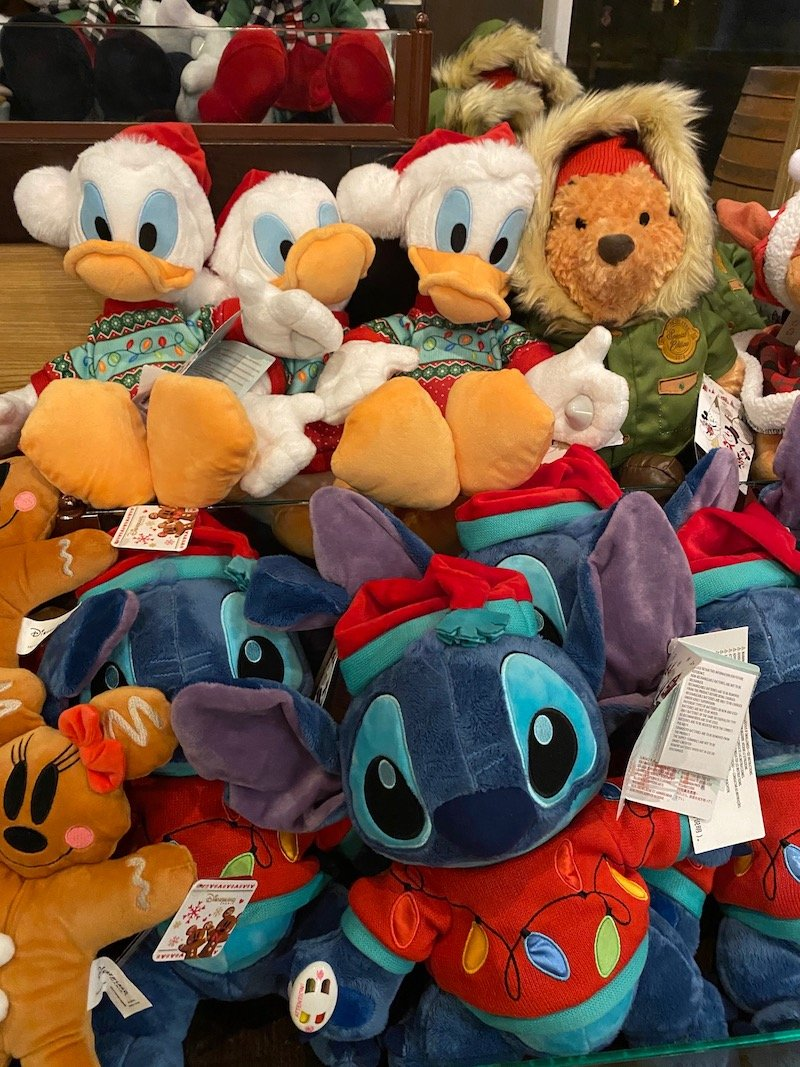 image - disneyland paris christmas plush toys