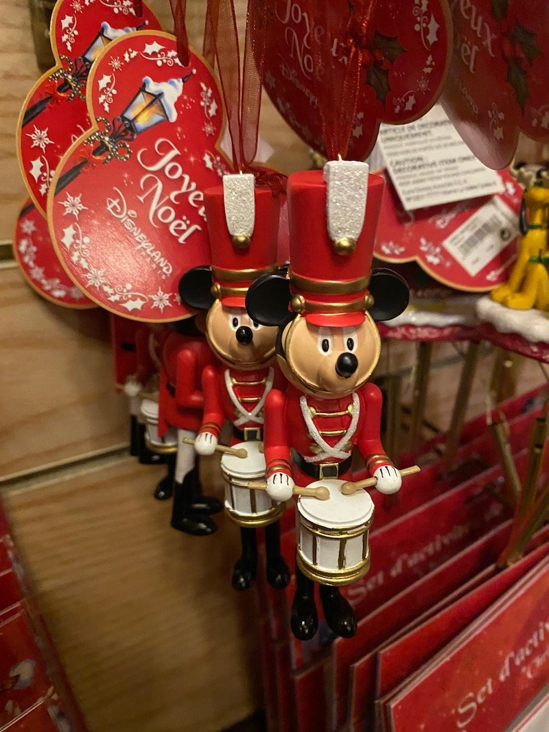 image - disneyland paris christmas soldiers mickey ornament