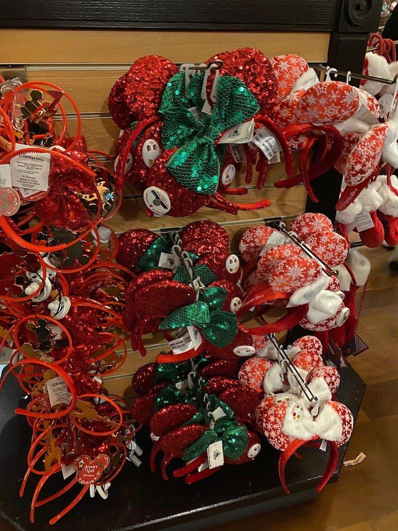 image - disneyland paris christmas souvenir ears