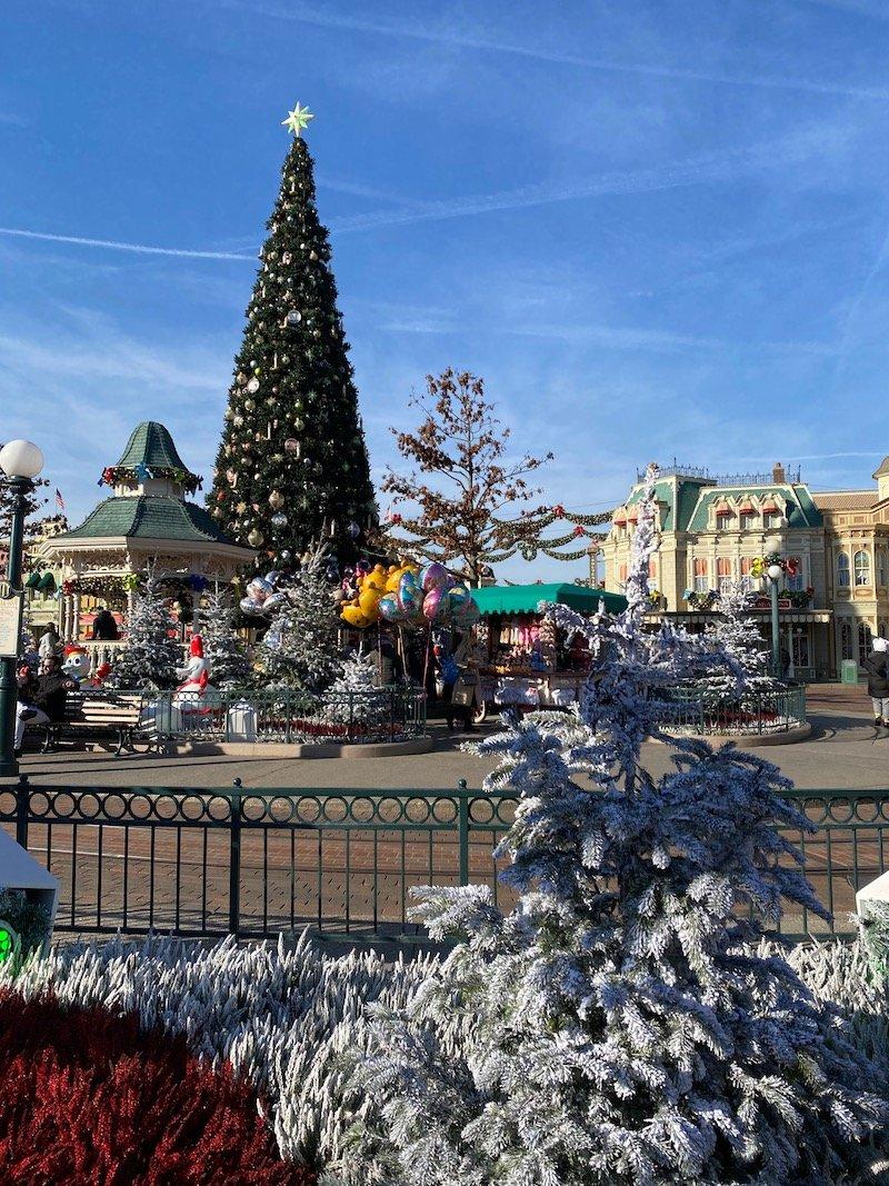 image - disneyland paris christmas tree