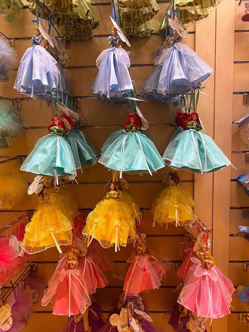 image - disneyland paris disney princess christmas ornaments
