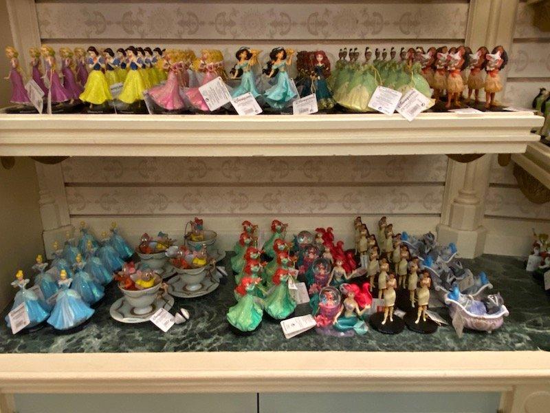 image - disneyland paris disney princess figurines