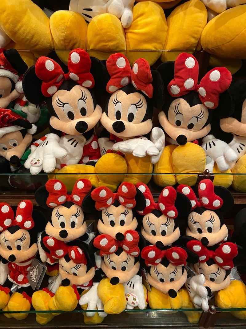 image - disneyland paris minnie mouse dolls