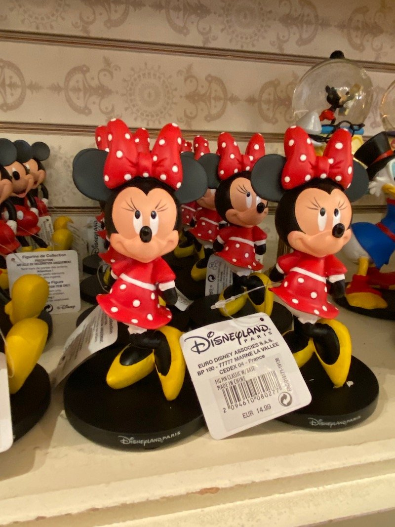 image - disneyland paris minnie mouse figurines