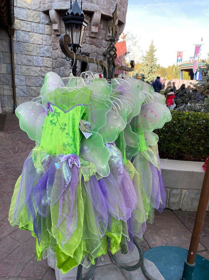 image - disneyland paris tinkerbelle costume