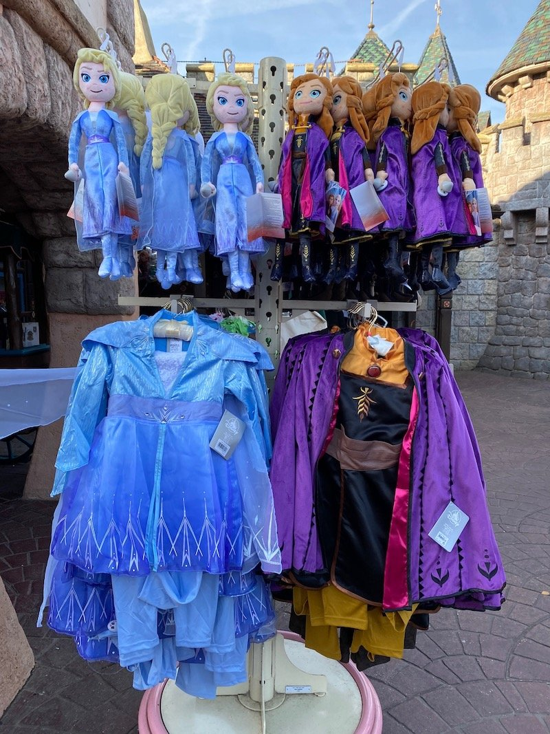 image - elsa and anna dress up costumes