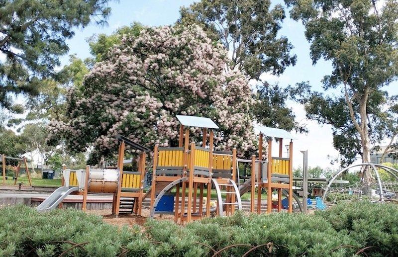 image - flagstaff gardens playground by jessie koh