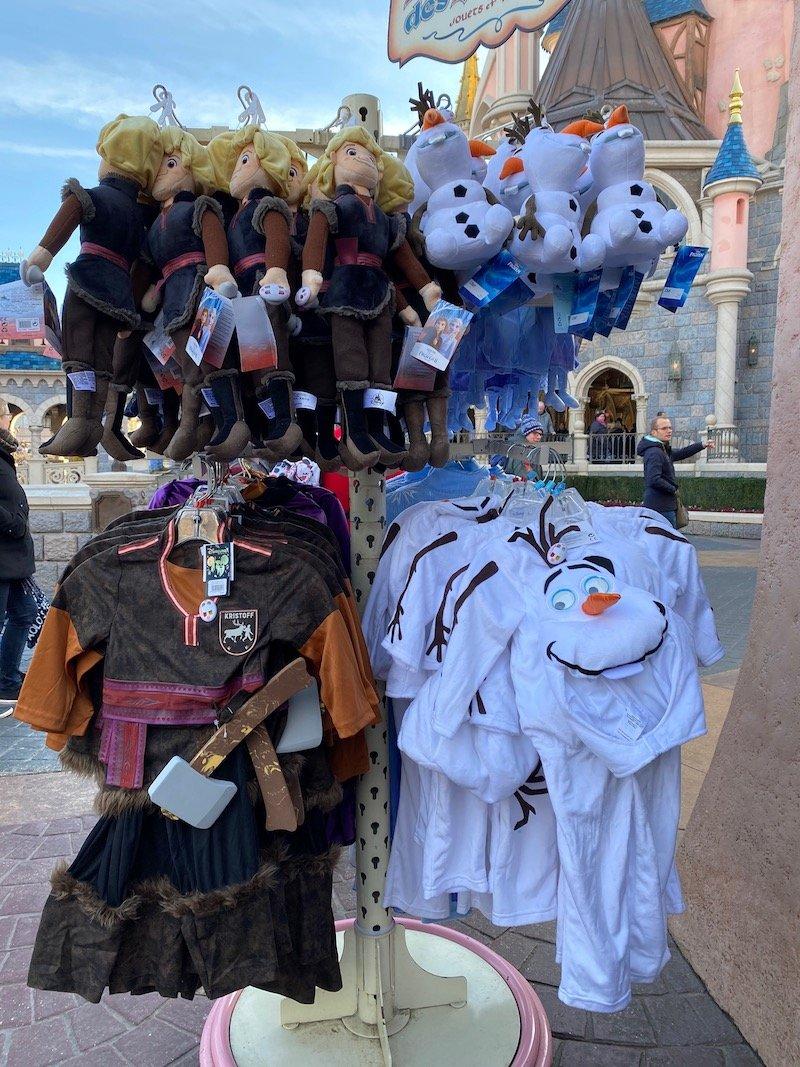 image - kristoff dress up costume & olaf costume
