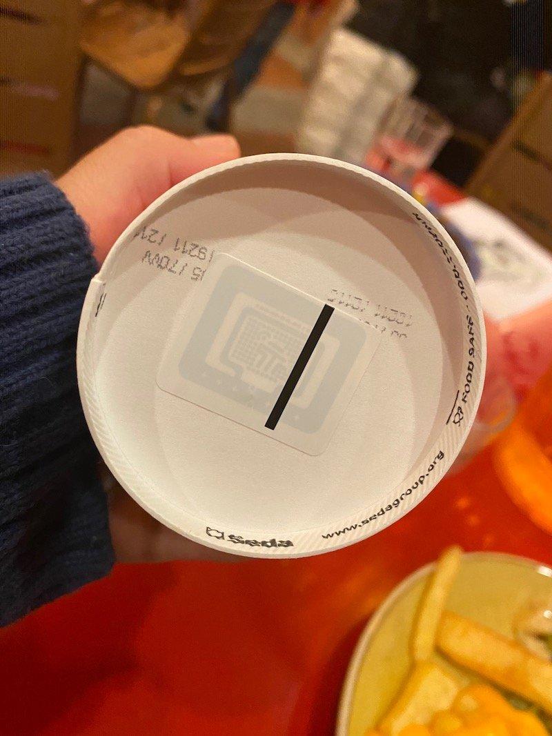 image -la cantina disneyland paris drinks barcode