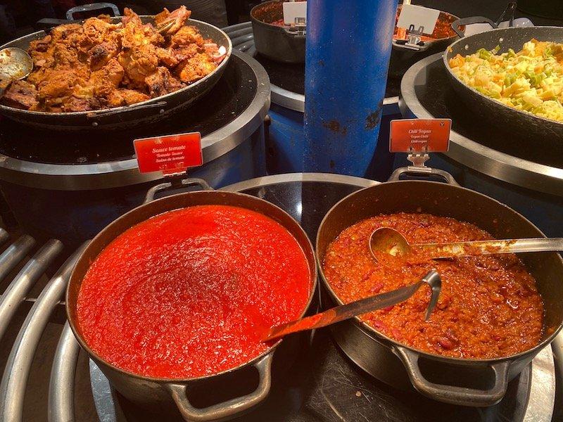 image -la cantina disneyland paris pasta bar
