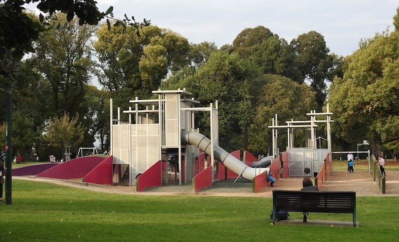 image - melbourne museum playground by adam g