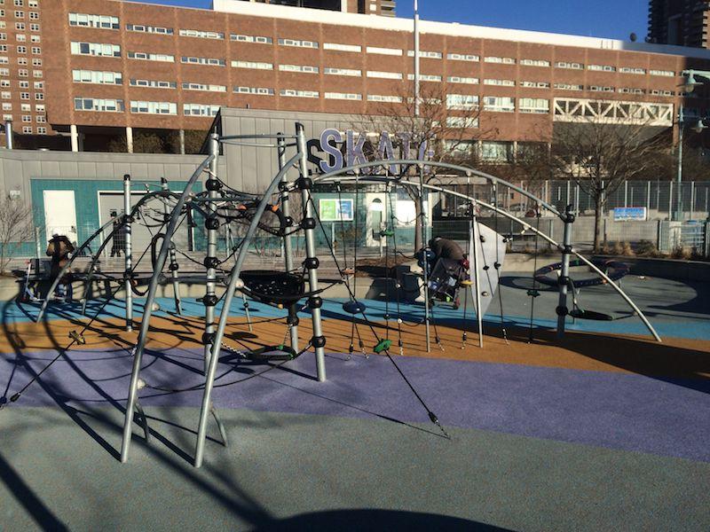 image - pier 25 playground and tribeca skate park 800