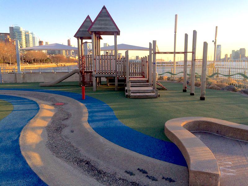 image - pier 51 playground nyc water playground
