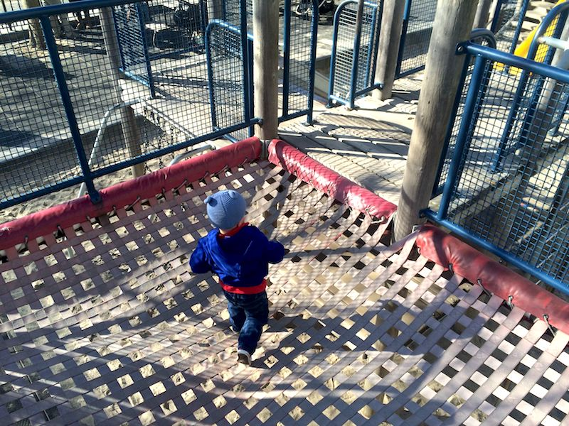 image - rockefeller park playground web netting with jack 800