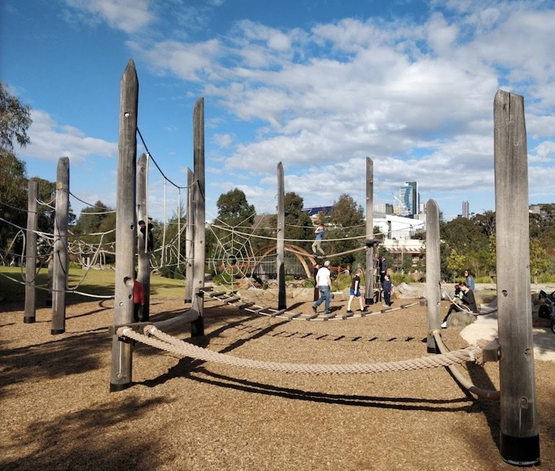 image - royal park nature play playground by teemu karjalainen gm