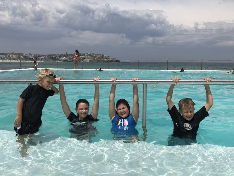 image - swimming at bondi icebergs sydney