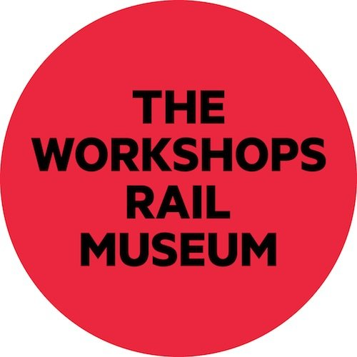 image - the workshops rail museum logo