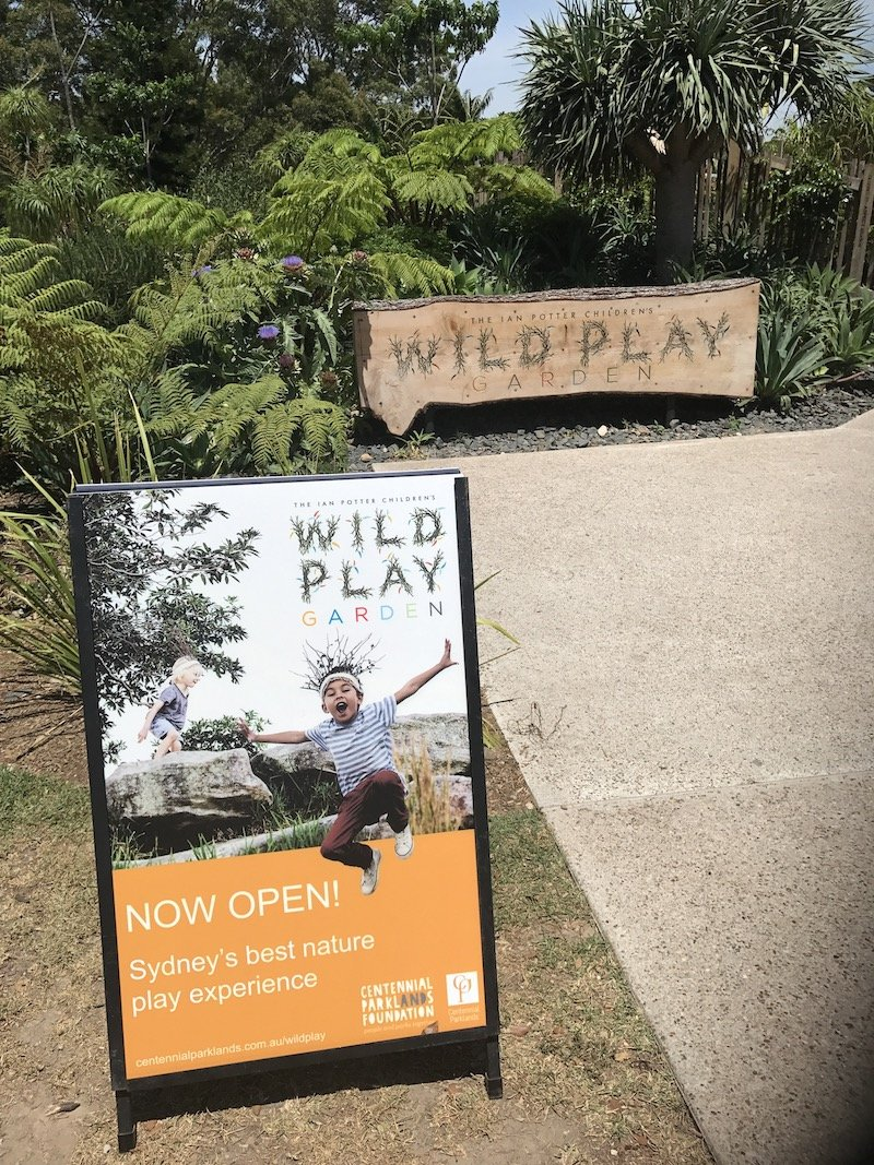 image - wild play centennial park sign