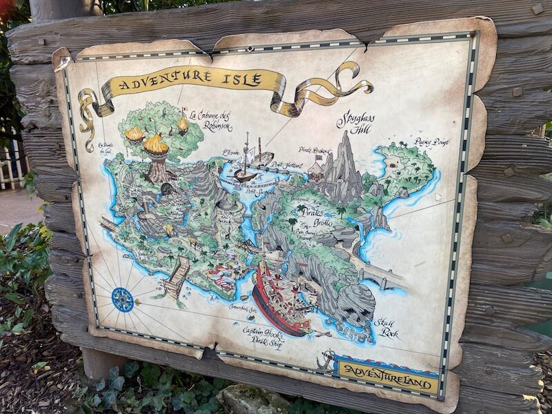 image - adventure isle disneyland paris map