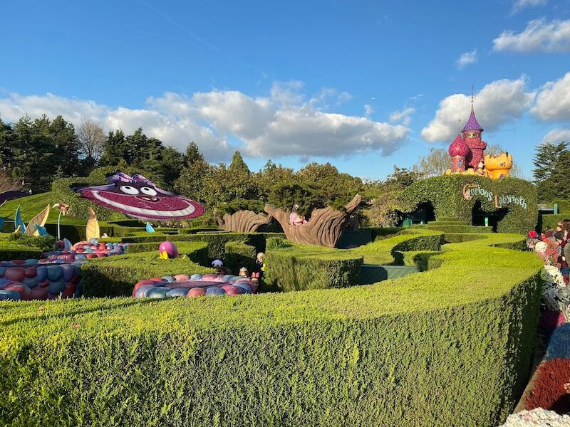 image - curious labyrinth disneyland paris