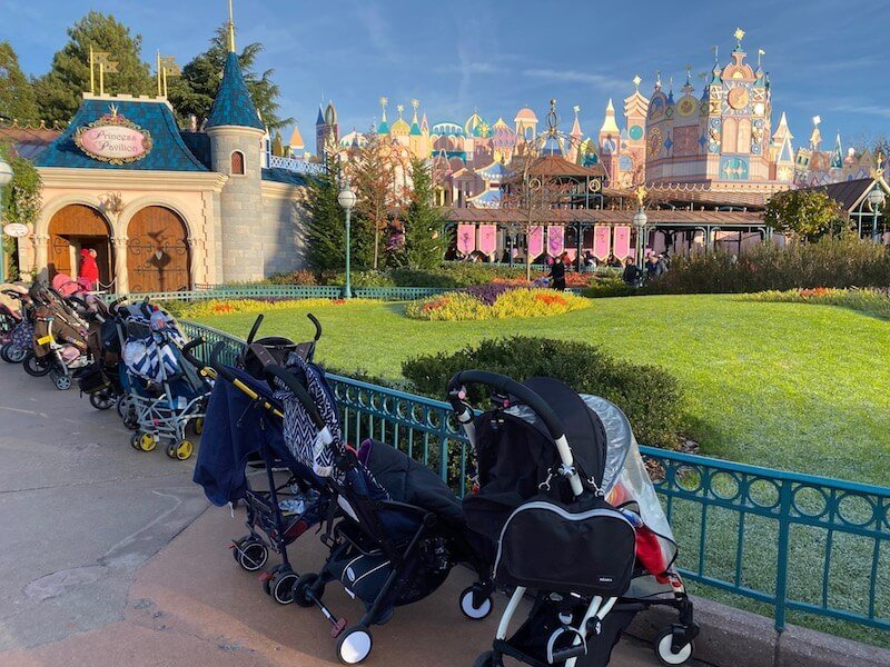 image - disneyland paris stroller areas map