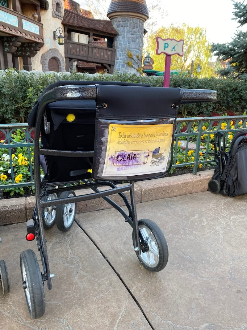 image - disneyland paris stroller rental