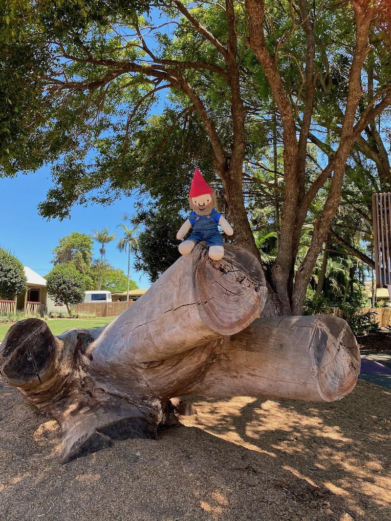 image - summerland house farm log climbing
