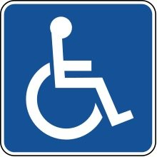 image - wheelchair symbol