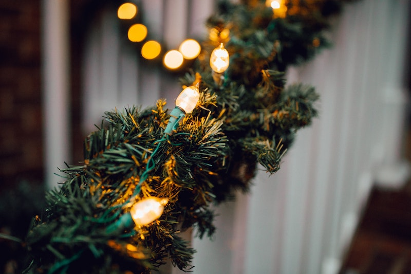 image - trampoline sleepover christmas garland by wes-hicks